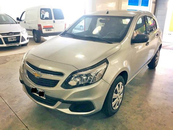 Chevrolet Agile Ls 2015 Km Real Nafta Permuto Financio Pd