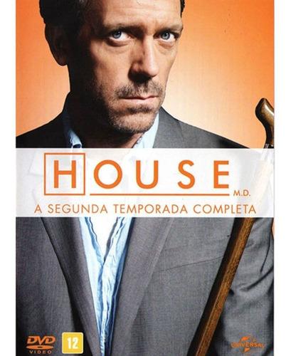 Box Dvd House Segunda Temporada Completa (6 Dvds)