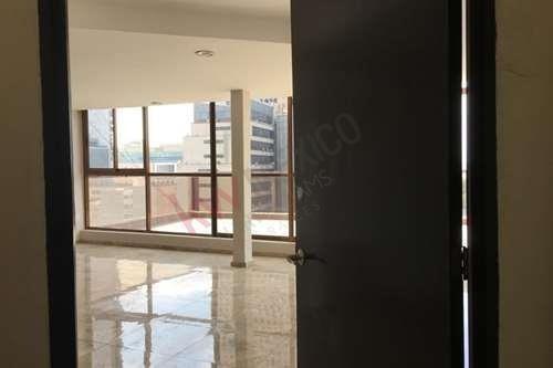 Renta Piso De Oficinas 75m $25,500 En Leibnitz Por Torre Mayor, Reforma, Camino Real Polanco, Dpvo Chapultepec