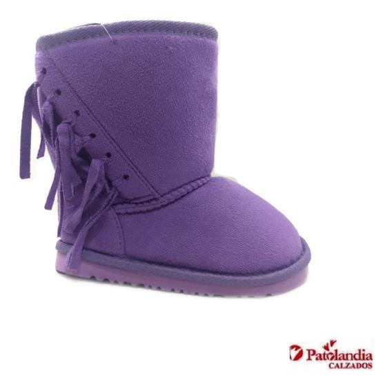 Pantubotas Nena Gummi Texas Flecos Coco/violeta N° 21/ 27