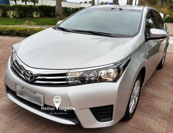 Toyota Corolla Gli 1.8 16v Flex Aut. 2015 Prata