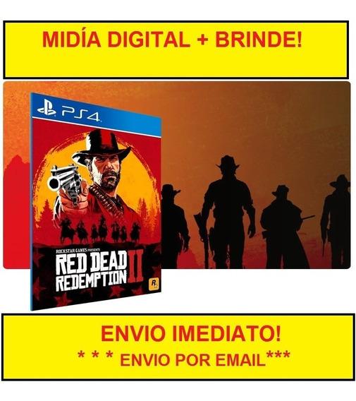 Red Dead Redemption 2 Ps4 Envio Imetiado! Original Psn