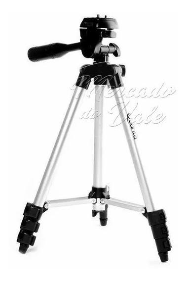 Tripé Quanta 36 A 103 Cm/3 Eixos Para Câmeras