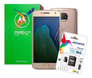 Celular Motorola Moto G5s Plus 32gb 3gb Ram 13mp + Sd 64gb