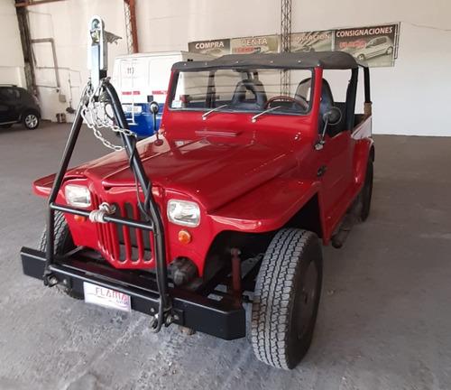 Jeep Ika 4x4 1960 Motor Chevy 250 Permuto
