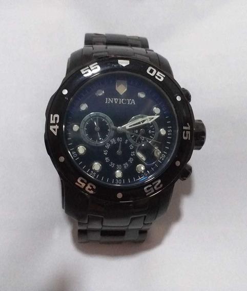 Relógio Invicta Pro Diver Preto Masculino.