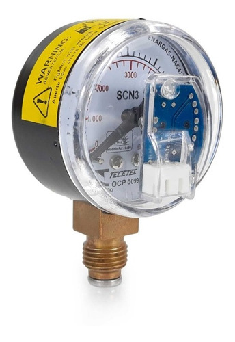Gnv Manômetro Sensor De Pressão Scn3 Sgv Original Kit