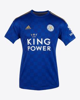 Camisa Nova Leicester 2019/20 Uniforme 1 - Pronta Entrega