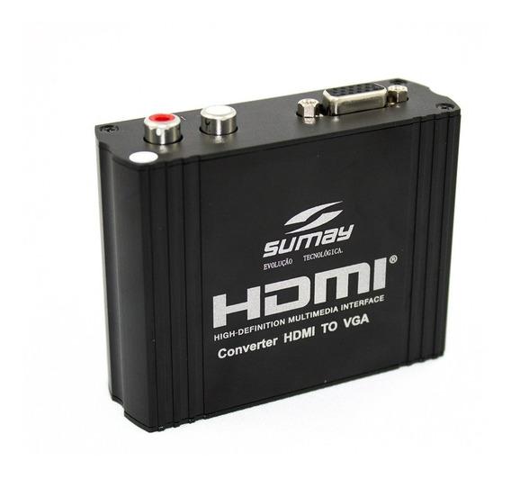 Sm Hv02 Conversor Hdmi X Vga Sumay