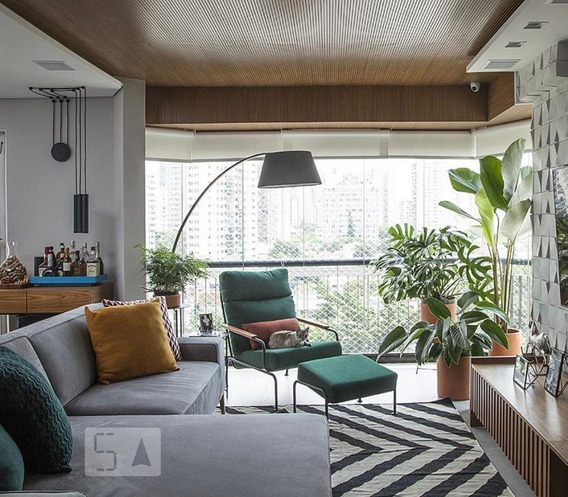 Apartamento À Venda - Brooklin, 3 Quartos, 120 - S893074331