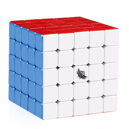 Cubo Rubik - Cyclone 5x5 - 63,5mm - Stickerless 5x5x5 + Base