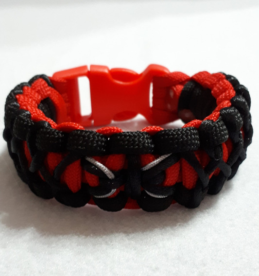 Pulsera Paracord Spiderman 2 Exclusivos De Moda