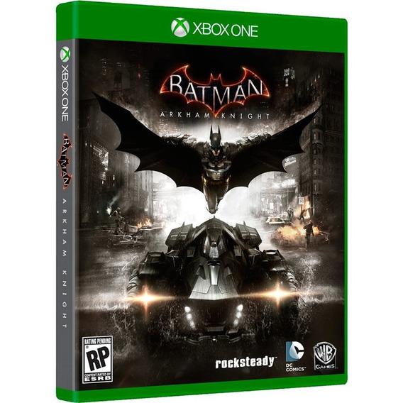 Jogo Batman Arkham Knight Xbox One Mídia Física Original Br
