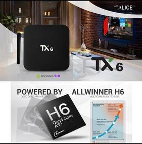 Tanix Smart Box Tx6 Com Antena Ddr3 Com 16gb