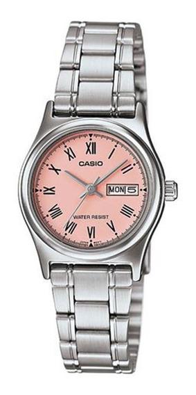 Relógio Feminino Analógico Casio Ltpv006d4bud - Prata