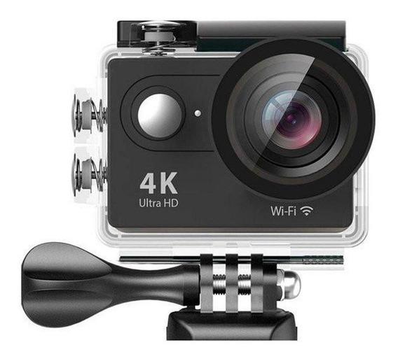 Camera Ação Eken H9r 4k Wifi Estilo Go Pro + Acessorios