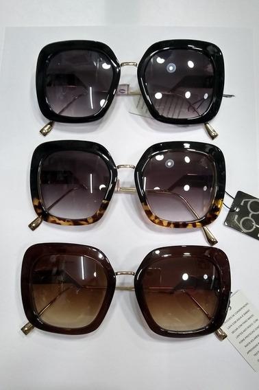 Óculos De Sol Feminino Com Case Gratis