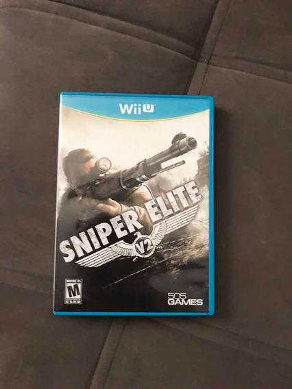 Sniper Elite V2 Para Nintendo Wii U Em Mídia Física