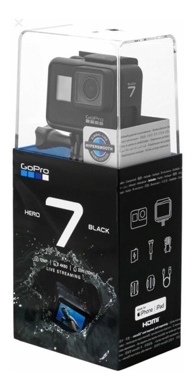 Câmera Digital Gopro Hero 7 Black 4k Wi-fi 12 Mp Original