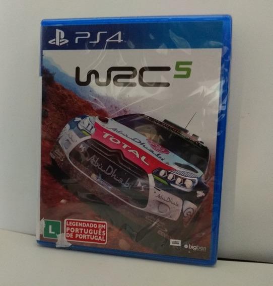 Wrc World Rally Championship 5 Ps4 Mídia Física Lacrado