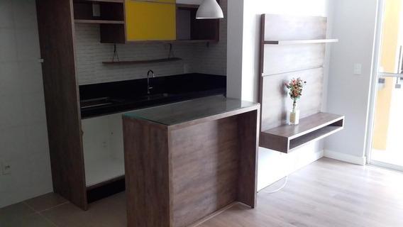 Apartamento No Jardim Iririú Com 2 Quartos Para Locação, 0 M² - La500