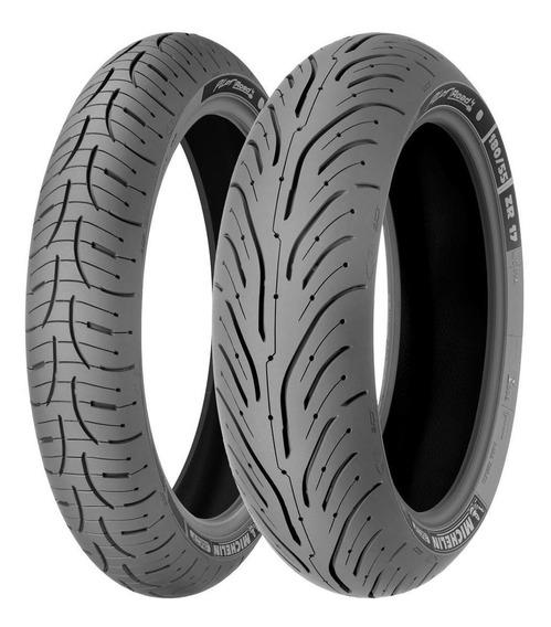 Llantas Michelin 120/70zr17 58w Y 180/55zr17 73w Pilot Road