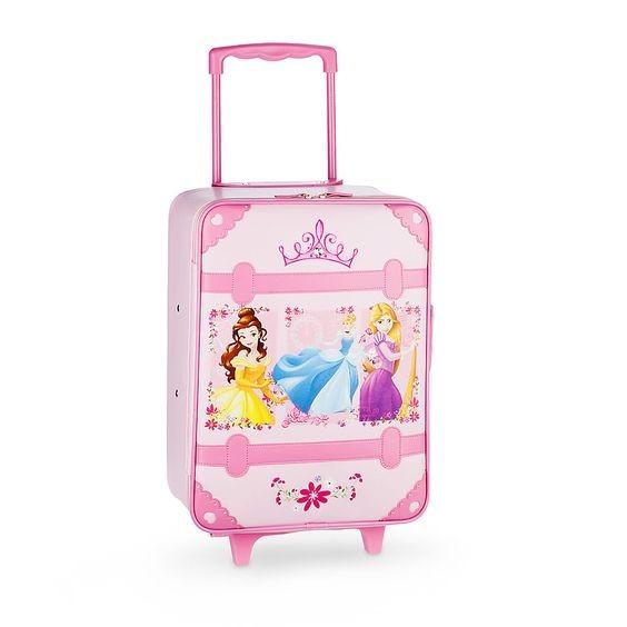 Maleta Princesas Disney Original, Maleta Ruedas Princesas.
