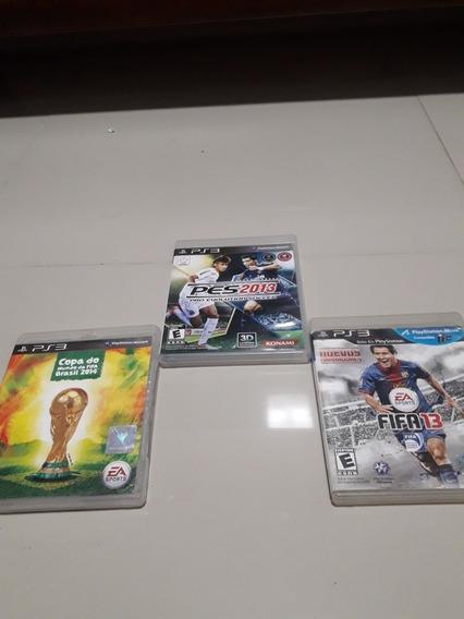 Kit 3 Jogos Da Fifa Original Para Playstation 3