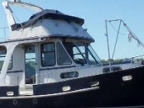 Trawler 12.20 Barco De Acero Naval Excelente Estado.
