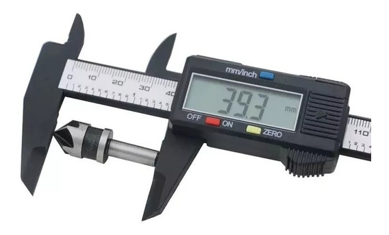 Paquímetro Digital 150 Mm Preto