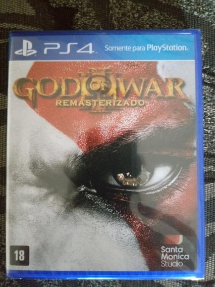 God Of War 3 Remasterizado Para Ps4 Novo De Fabrica