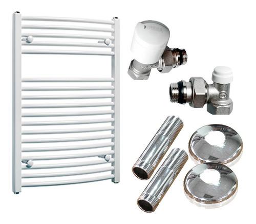Toallero Peisa Scala 80 Blanco P/calefaccion C/kit Completo