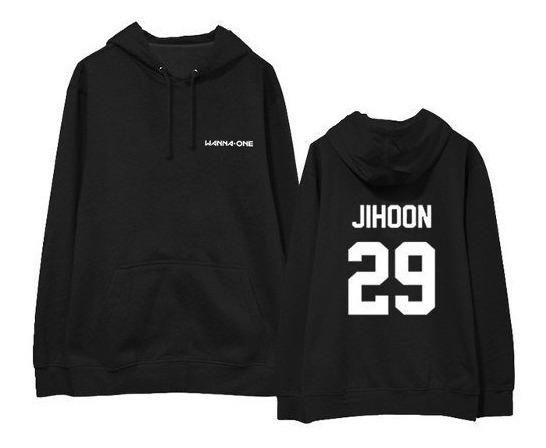 Moletom Canguru K-pop Wanna One Jihoon 29