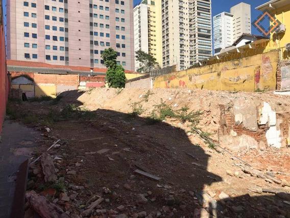 Terreno Para Alugar, 560 M² Por R$ 20.000,00 - Perdizes - São Paulo/sp - Te1028