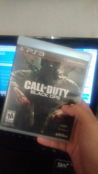 Call Of Duty Black Ops 1 Midia Fisica - Conservado