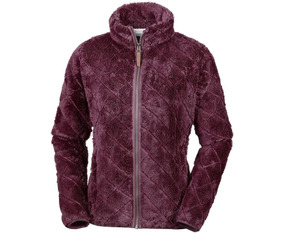 Polar Columbia Fire Side Sherpa Full Zip Burdeo