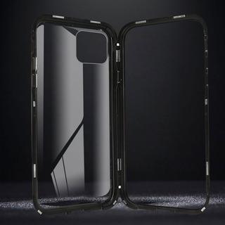 Funda Magnética iPhone 11/ Pro/ Max Protector Metal Colores*