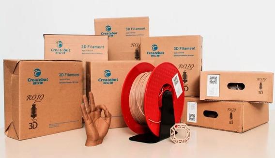 Tpu Filamento 3d Flex Wood Madeira Ao 38% #r3d