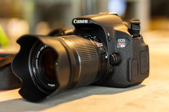Canon T5i + 18-55 Stm + 2 Baterias + Parasol