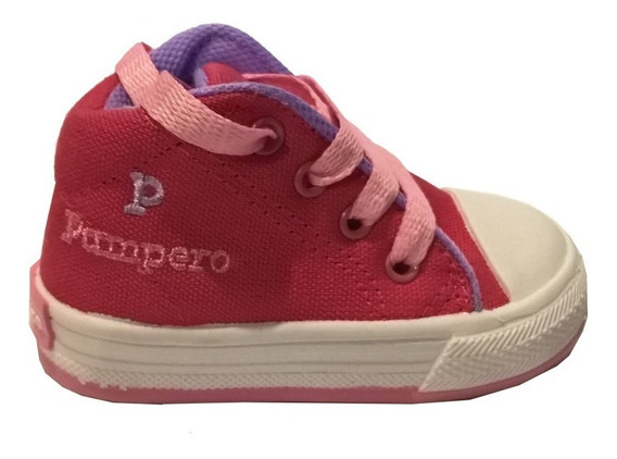 Zapatillas Botitas Niñas Niños Caminantes Pampero Mod Juani