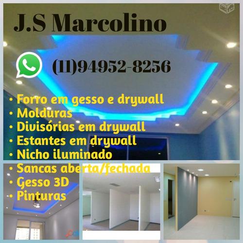 Imagem 1 de 1 de Serviços De Drywall Teto E Parede De Divisória !!