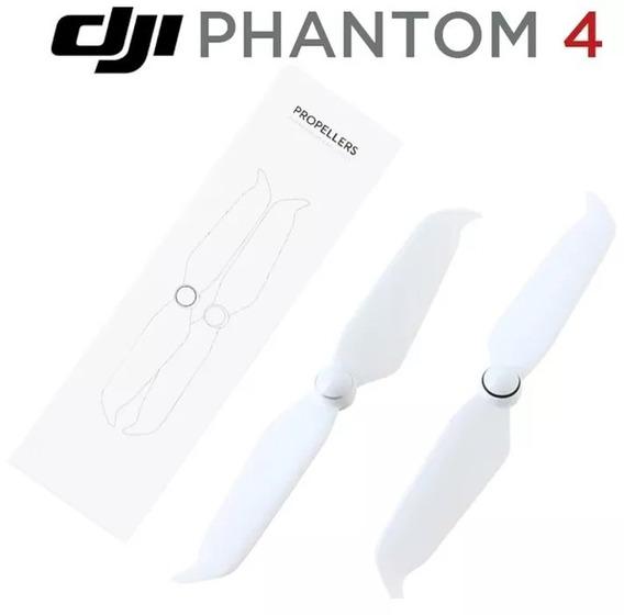 Jogo De 4 Hélices Dji Phantom 4 Low Noise Pro V2 Original