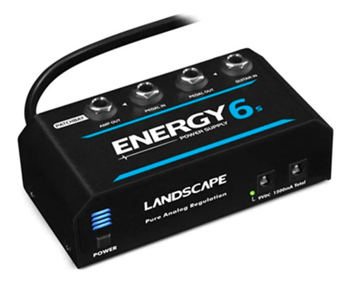 Fonte Landscape Energy 6s Para Pedais 1500ma