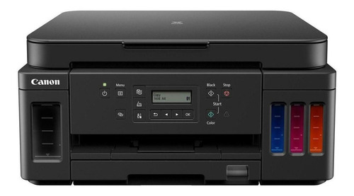 Imagem 1 de 5 de Impressora a cor multifuncional Canon Pixma G6010 com wifi preta 100V/240V