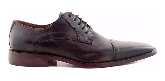Zapato Hombre Acordonado Cuero Briganti - Hcac00700 Fi