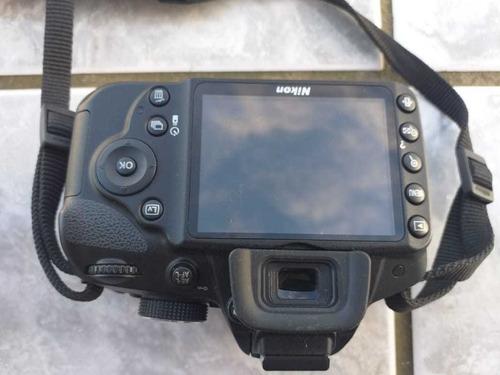 Câmera Profissional Nikon + Acessórios