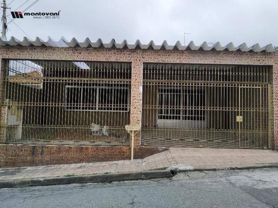Casa Residencial Para Locação, Chácara Mafalda, São Paulo - . - Ca0346