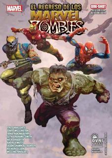 Cómic, Marvel, El Regreso De Los Marvel Zombies