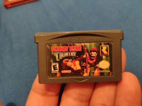 Jogo Nintendo Gameboy Advance Donkey Kong Country 1 E 2