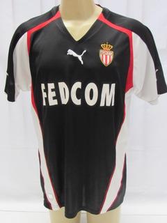Camisa De Futebol Do Monaco Da França Preta #13 Maicon Puma